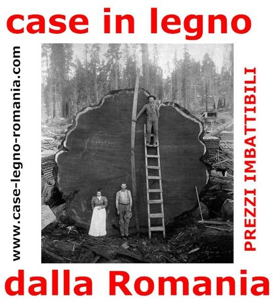 Case in legno dalla romania tutte le tipologie le for Case in legno dalla romania